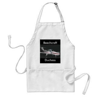 Duquesa, Beechcraft, duquesa Delantal