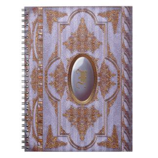 Duquesa Celia Victorian Spiral Notebook