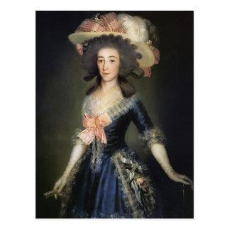 Duquesa Countess de Francisco Goya- de Benavente Postal