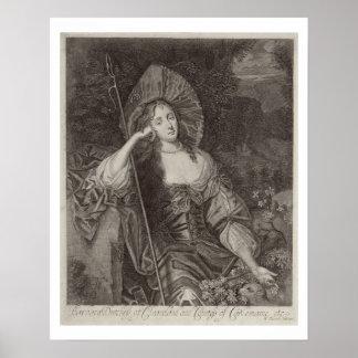 Duquesa de Barbara de Cleaveland (1641-1709) como  Posters