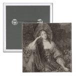 Duquesa de Barbara de Cleaveland (1641-1709) como  Pin Cuadrado
