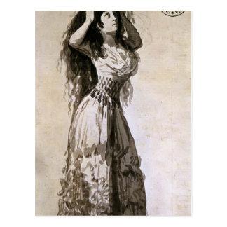 Duquesa de Francisco Goya- de Alba arreglando su p Postales