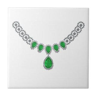 Duquesa de las esmeraldas de Windsor Teja Cerámica