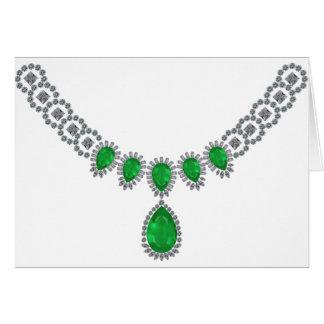 Duquesa de las esmeraldas de Windsor Tarjeta De Felicitación