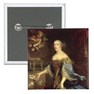 Duquesa de los d'Orleans de Ana María de Montpensi Pin Cuadrado