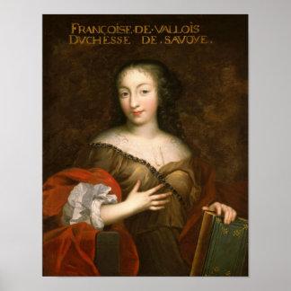 Duquesa de los d'Orleans de Francoise-Madeleine de Posters