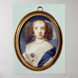 Duquesa de Orleans, c.1665 Posters