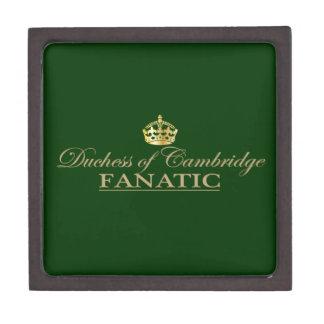 Duquesa del fanático de Cambridge Caja De Recuerdo De Calidad