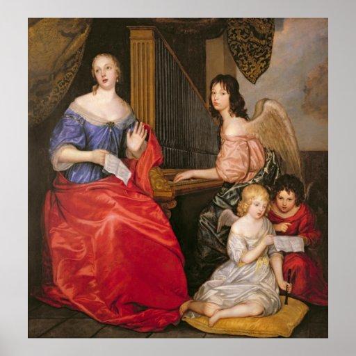 Duquesa La Valliere de Francoise Louise con Póster