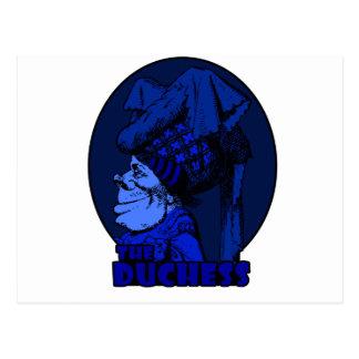 Duquesa Logo Blue Tarjetas Postales