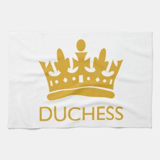 Duquesa real Gold Range Hikingduck de la corona Toallas De Mano