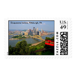 Duquesne Incline, Pittsburgh, PA Stamp