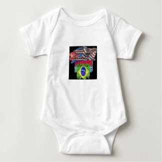 Durable creeper, colors hide spills baby bodysuit