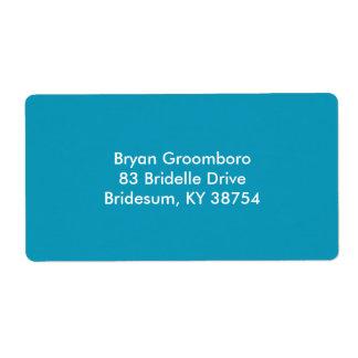 Durable Monochrome Label