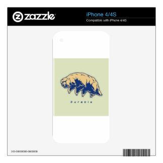 Durable - Tardigrade iPhone 4 Decals