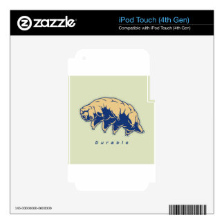 Durable - Tardigrade iPod Touch 4G Decals