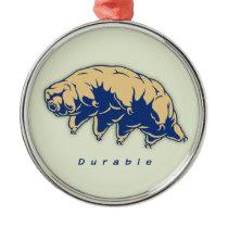 Durable - Tardigrade Metal Ornament