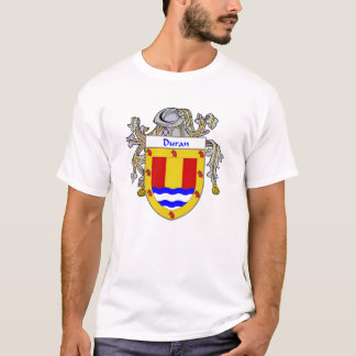 Duran Coat of Arms/Family Crest (Mantled) T-Shirt