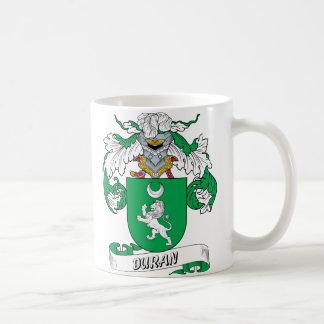 Duran Family Crest Mug