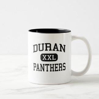 Duran - panteras - joven - ciudad Alabama de Pell Taza Dos Tonos