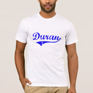 Duran Surname Classic Style T-Shirt
