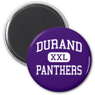Durand - Panthers - High School - Durand Wisconsin Refrigerator Magnets