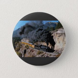 Durango and Silverton Railroad, No. 481, Bear Cree Button