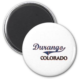 Durango Colorado City Classic 2 Inch Round Magnet