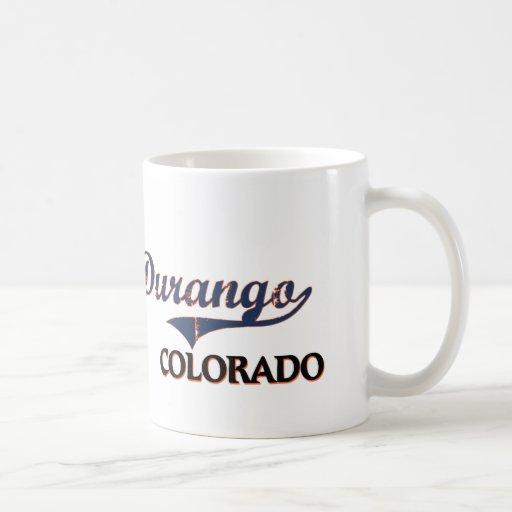 Durango Colorado City Classic Mug