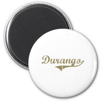 Durango Colorado Classic Design 2 Inch Round Magnet