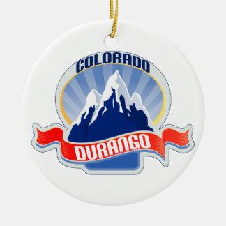 Durango Colorado Adornos De Navidad