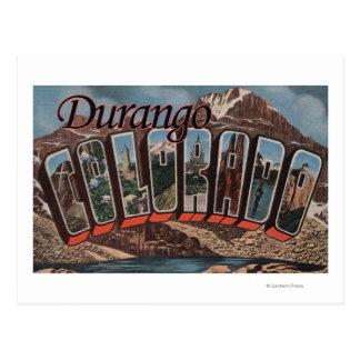 Durango, Colorado - escenas grandes de la letra Postales