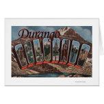 Durango, Colorado - escenas grandes de la letra Tarjeta