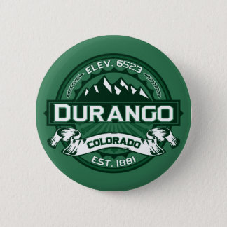 "Durango ""Colorado Green"" Logo Pinback Button"
