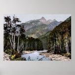 Durango, Colorado Needle Mountains Landscape Poster