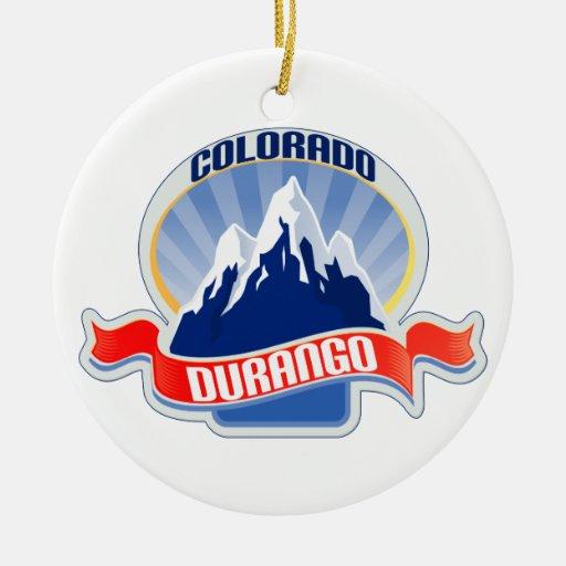 Durango Colorado Christmas Ornaments