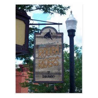 Durango Colorado Rough Riders Tarjetas Postales