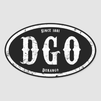 Durango Colorado Sticker