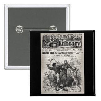 Durango Dave - Beadle's Half Dime Library 1904 Pins