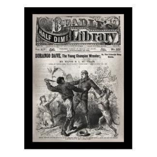 Durango Dave - Beadle's Half Dime Library 1904 Postcard