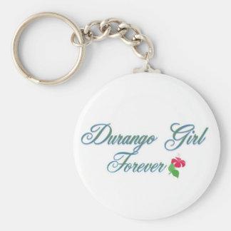 Durango Girl Keychain