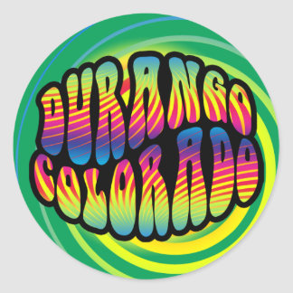 Durango Hippy Trippy Sticker