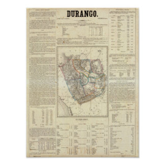 Durango México Poster
