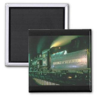Durango & Silverton No_Steam Trains Magnet