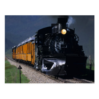 Durango & Silverton Steam Train Postcard