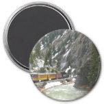 Durango Silverton Train 3 Inch Round Magnet