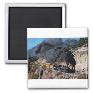 Durango y ferrocarril de Silverton, no. 481, Cree Imán Cuadrado