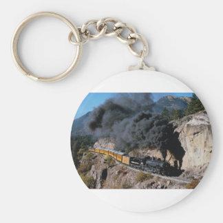 Durango y ferrocarril de Silverton, no. 481, Cree  Llavero