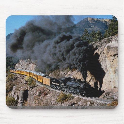 Durango y ferrocarril de Silverton, no. 481, Cree Mouse Pads