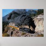 Durango y ferrocarril de Silverton, no. 481, Cree  Póster